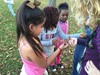 Boulevard students participating in the After School Nature Club