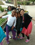 Students originally from Nepal take a trip to the zoo.
