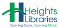 The Heights Libraries logo.