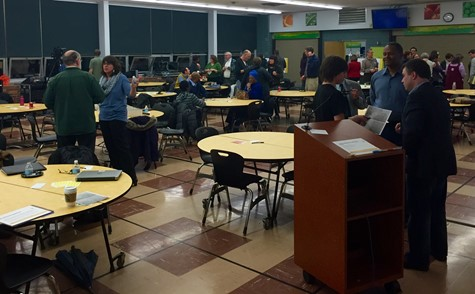 Middle School Community Meeting With Architects