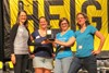 The team representing Fairfax Elementary won this year's Reaching Heights Adult Community Spelling Bee.