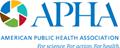 The American Public Health Association logo.
