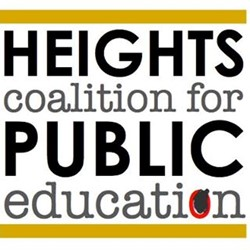 Heights Coalition for Public Education logo