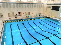 Heights High School Natatorium pool