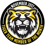Tiger Team Members of the Month - November 2017