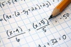 Pencil and math problem