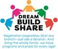 Dream, Build, Share logo