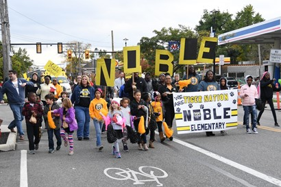 Noble in parade
