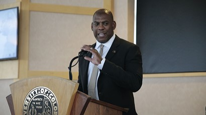 Mel Tucker (photo credit: University of Colorado Athletics)