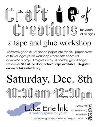 Craft Creations flyer