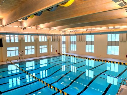 Heights High School natatorium