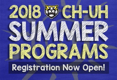 2018 CH-UH Summer Programs Registration Now Open