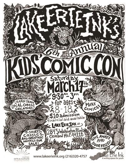Kids Comic Con Flyer