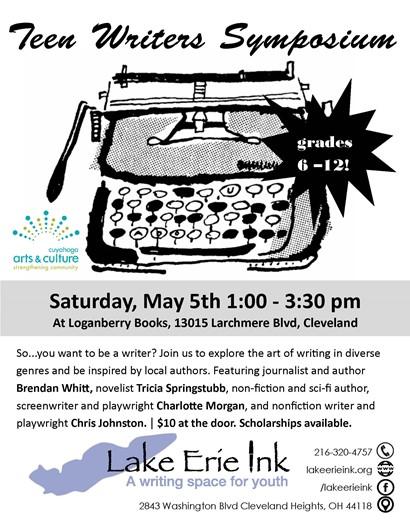 Teen writers flyer