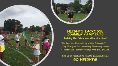 Heights Lacrosse ad