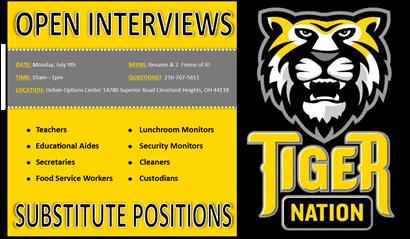 Interview flyer