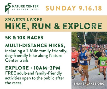 Shaker Lakes Hike Flyer