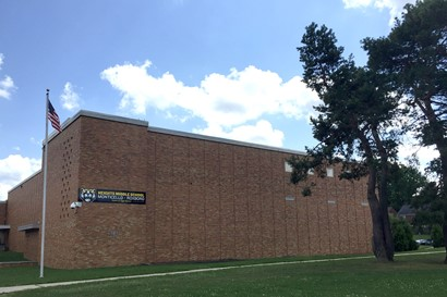 Heights Middle School exterior