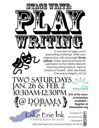 Playwriting flyer
