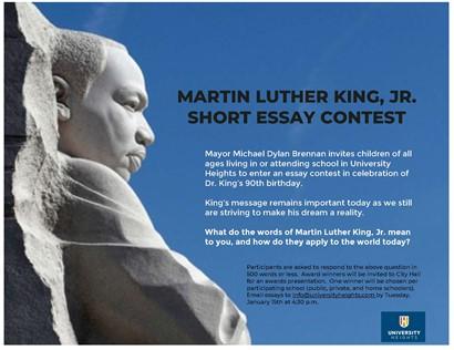MLK Essay Flyer