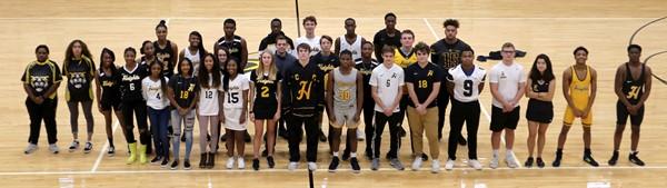 Heights High School student-athletes