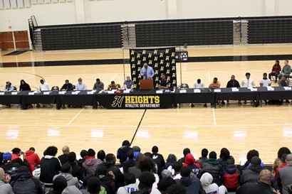 Heights High School Athletic Signing Day 2019