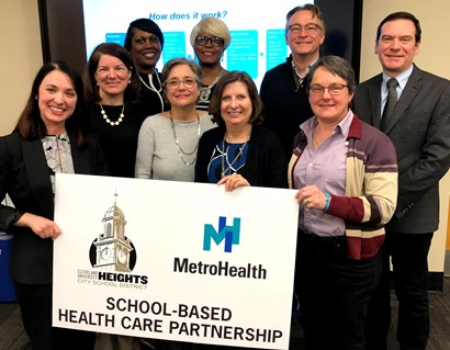 CH-UH Board members and MetroHealth Representatives