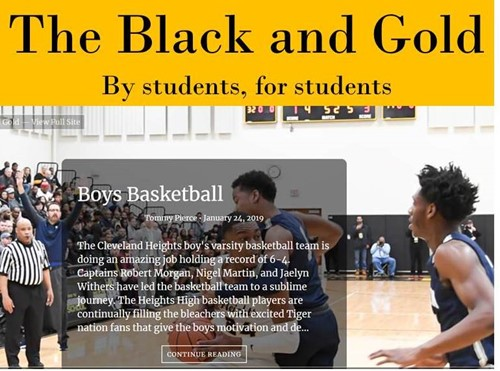 Black and Gold publication