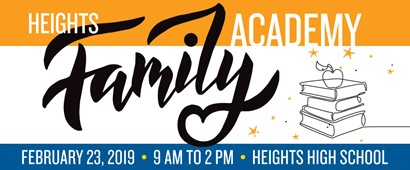 Heights Family Academy flyer