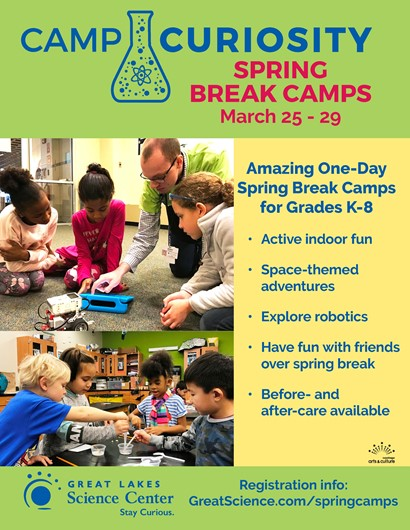 great lakes science center flyer