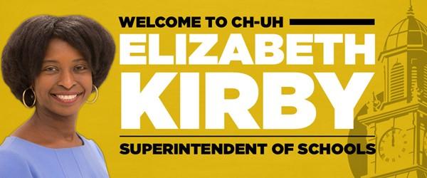 Welcome New Superintendent of Schools Elizabeth Kirby
