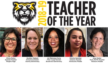 CH-UH Teacher of the Year Finalists