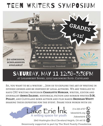 teen writers flyer