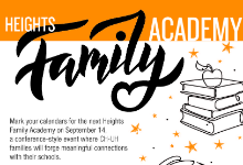 family academy flyer