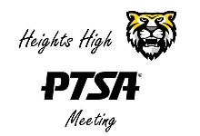 Heights High PTSA Meeting