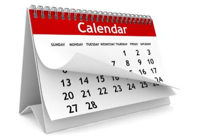 calendar graphic