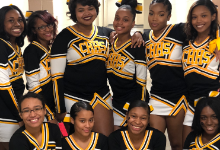 Heights High JV Cheerleaders