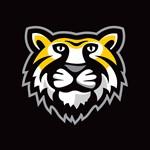 Tiger Only on Black EPS