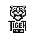 Tiger Nation 9-12 gray EPS