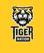 Tiger Nation 9-12 on gold EPS