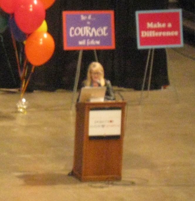 Andrea Levy: Artist, motivational speaker, and writer for the Cleveland Plain Dealer