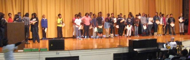 7th grade Merit Roll awardees