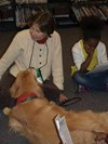 Therapy Dogs Visit Boulevard NovDec 2013