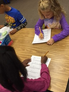 2nd Grade Students in Ms. Windham's Math Class