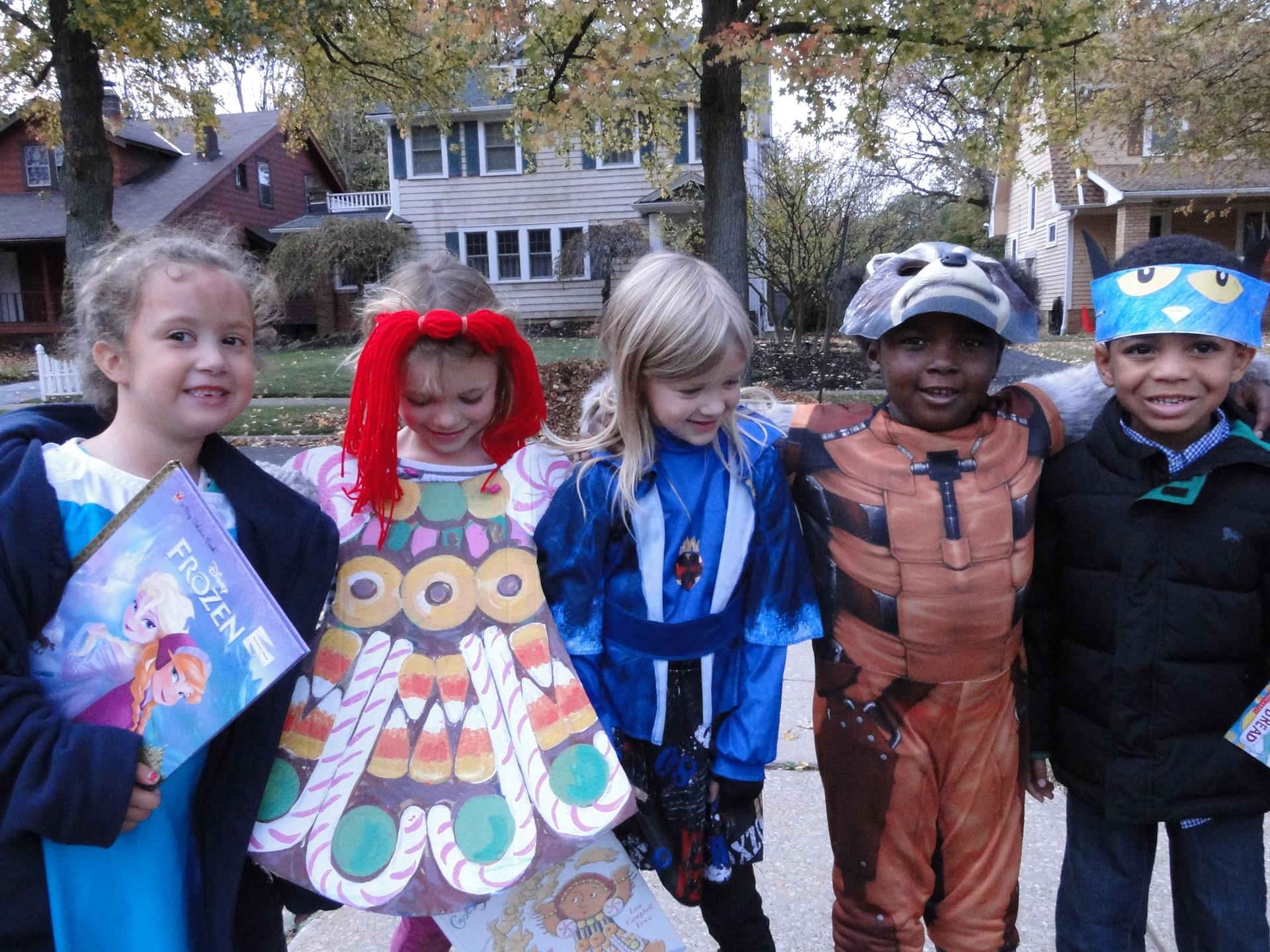 Canterbury Book Character Parade