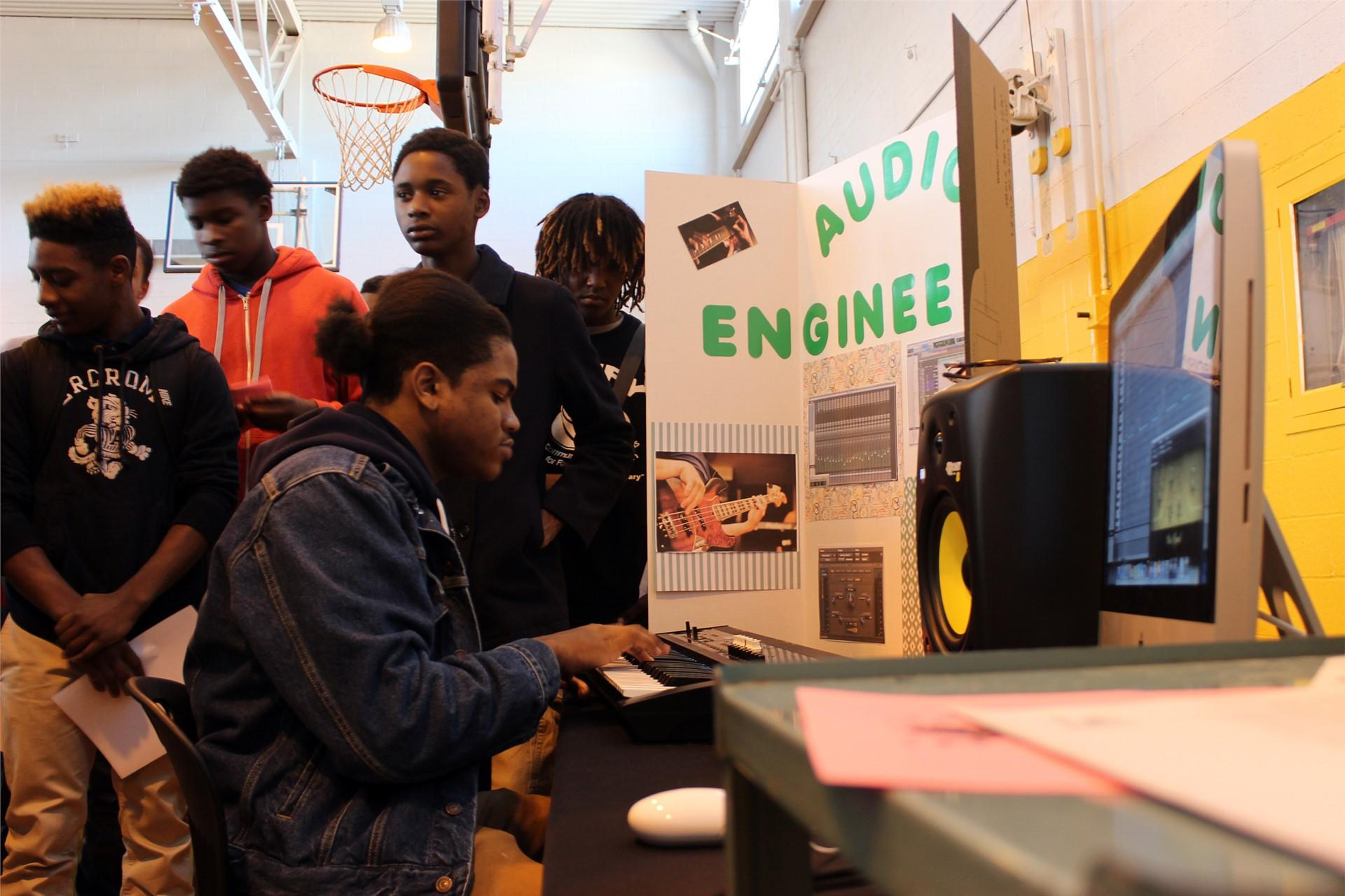 CTE Program - Audio Engineering