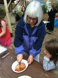 Beth El Temple Visits Gearity's Outdoor Learning Lab and MakerSpace