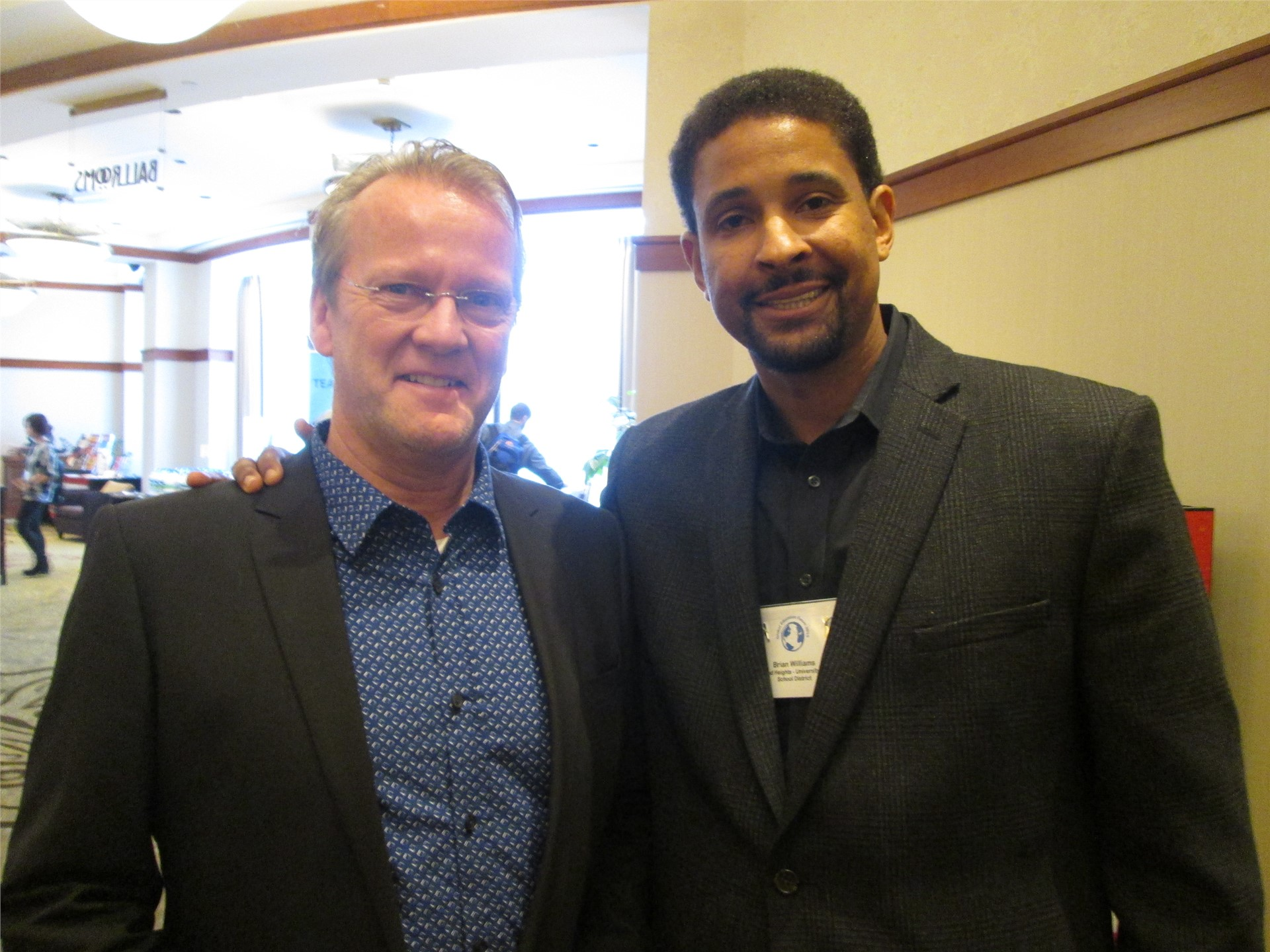 Dr. Williams speaks at University of Pennsylvania with author Dr. Pasi Sahlberg.