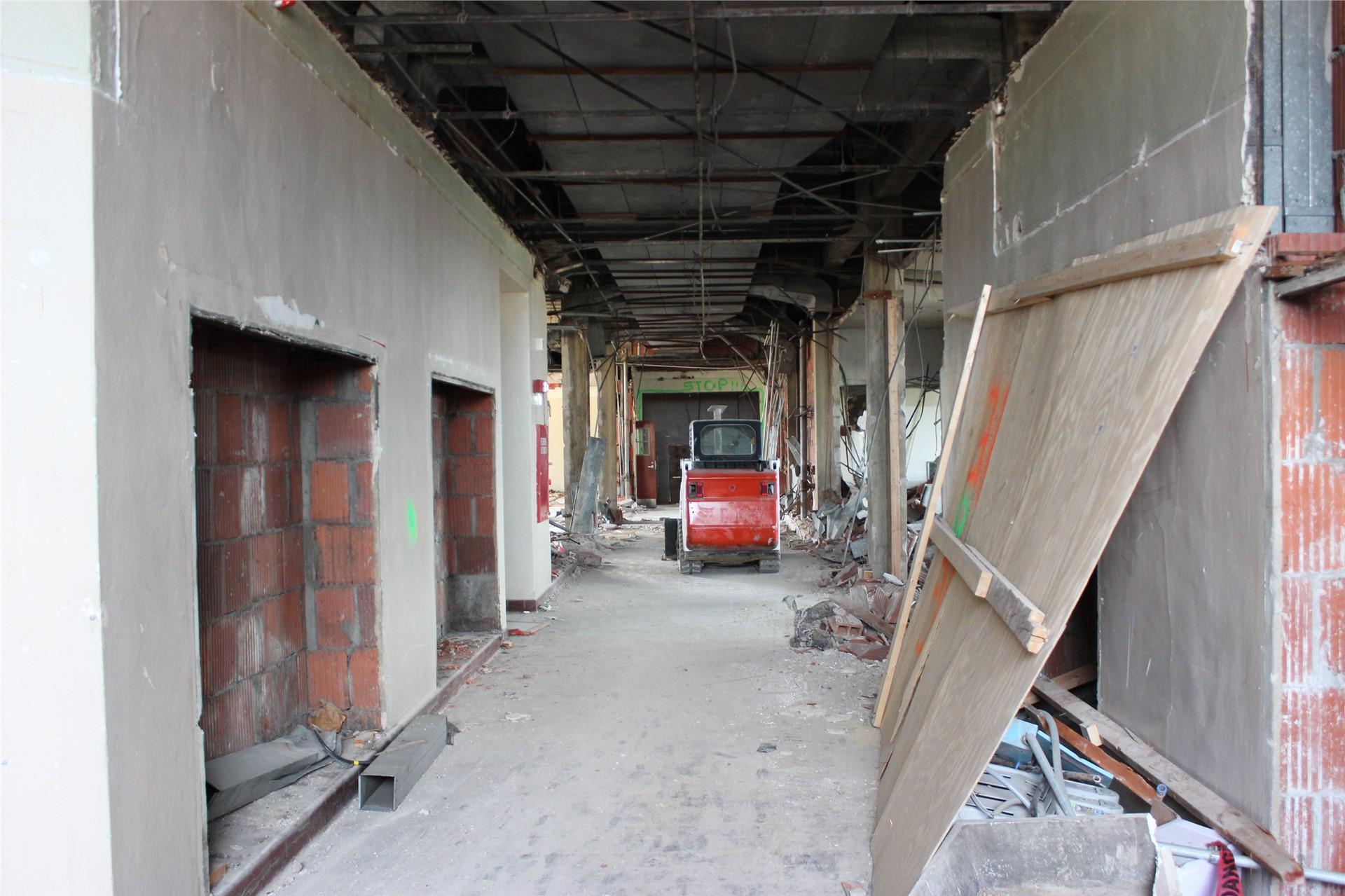 Third floor, former Renaissance area