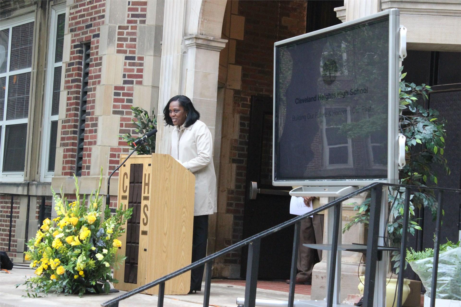 Superintendent Dr. Talisa L. Dixon